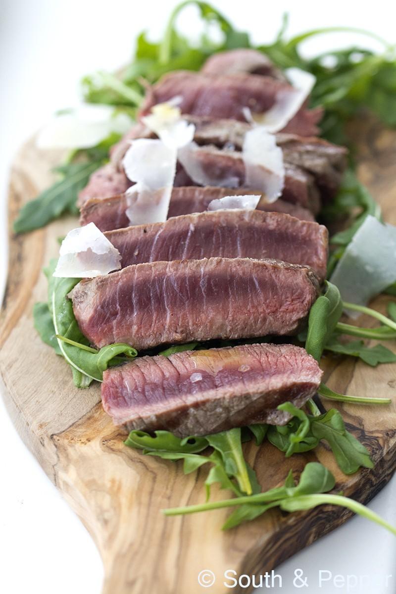 Italiaanse biefstuk tagliata