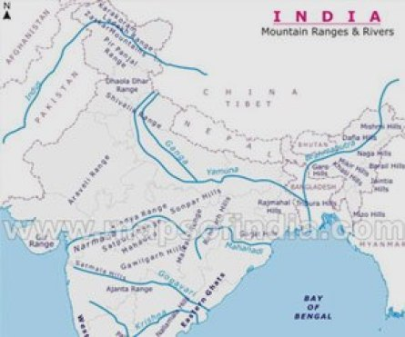 Map Of Asia Rivers.South Asian Water Conflict South Asia Journal