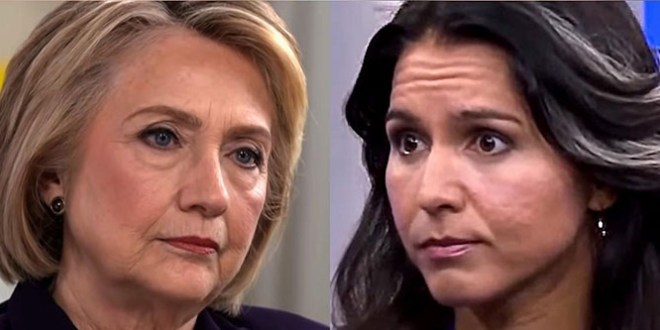Clinton signals Russia 'grooming' Tulsi Gabbard for 2020 run