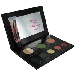 My Luscious Greens-Complete Makeup Pallet- Includes 2 Shadow Primers
