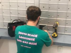 Miami Beach locksmith services - Mail Box