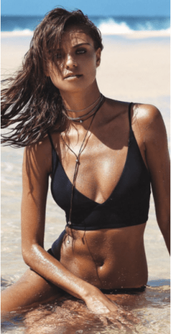 L Space Olivia Monique Black Bikini // http://bit.ly/2lPs4Z6