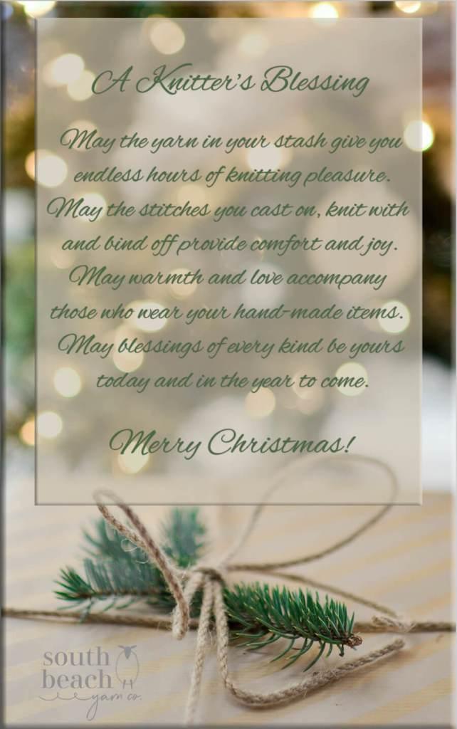 A Knitter's Christmas Blessing
