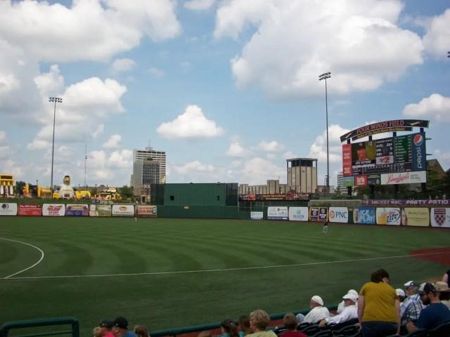 Four Winds Field at Coveleski Stadium