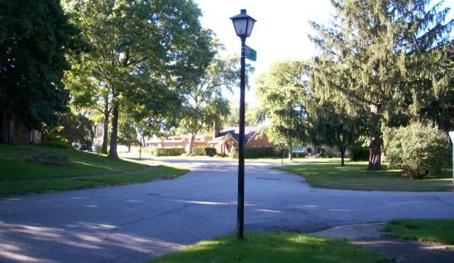 Steet Light intersection