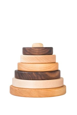 Hardwood Stacking Toy