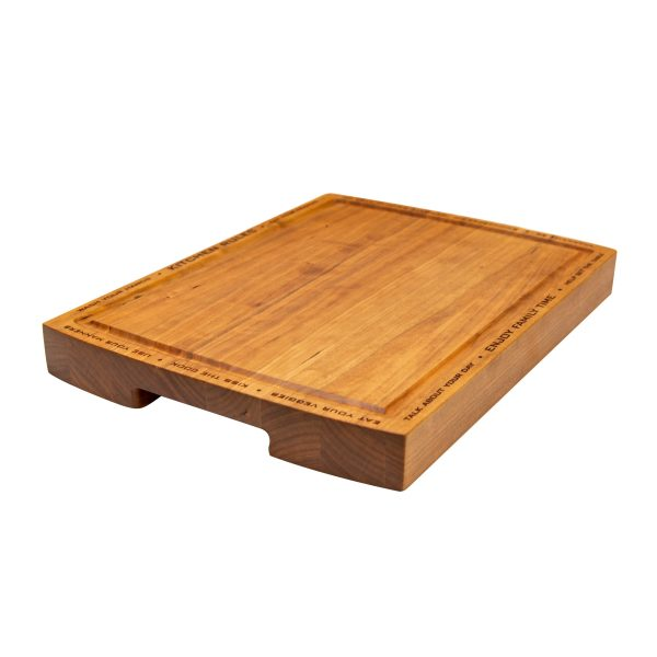 Family Rules Cutting Board