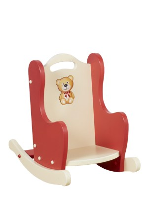 Red Teddy Bear Rocker