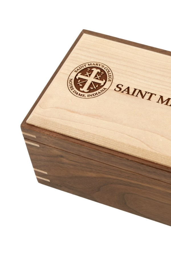 St. Mary's College Hardwood Box