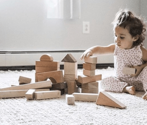 Baby and Block Set