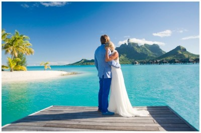 Honeymoon Shoot in Bora Bora