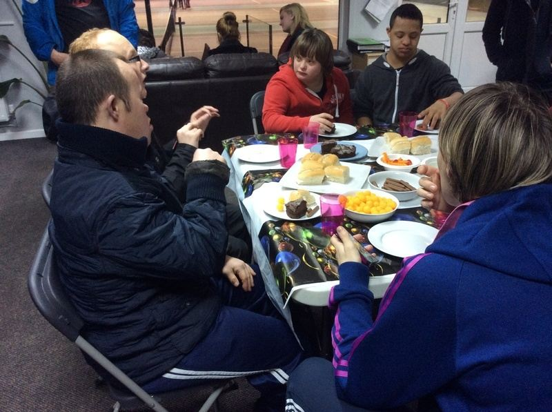 Learning disability Christmas party (4)