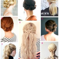 8 Easy Hair Tutorials