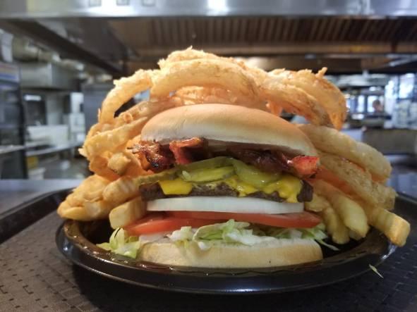 A Beacon Cheeseburger Bacon A-Plenty