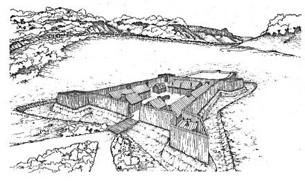 Building Fort Keowee – Fort Prince George