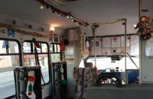 South Central Transit Driver Spreads Holiday Cheer