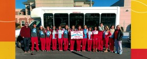 """South Central Transit supports """"Cheering for Mamma Jolliff"""""""