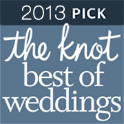 B-Sharp Entertainment received The Knot's Best Of Weddings Award in 2013