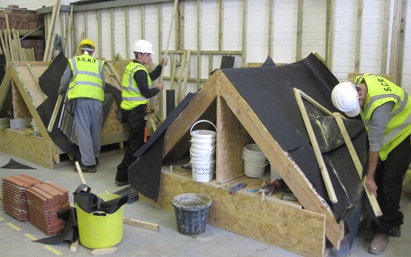 Preparing for roofing
