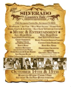 Annual Silverado Country Fair and Folk Festival