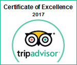 TA Certificate of Excellence 2017