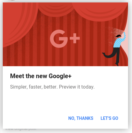 Meet the new Google+