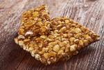 Peanut brittle sweet hard