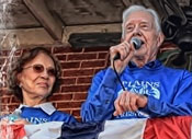 Rosalynn and President Jimmy Carter