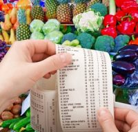food cost price-check from supermarket
