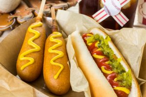 major league baseball hot dogs