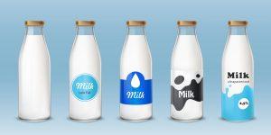milk dairy label food