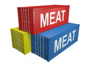 meat exports