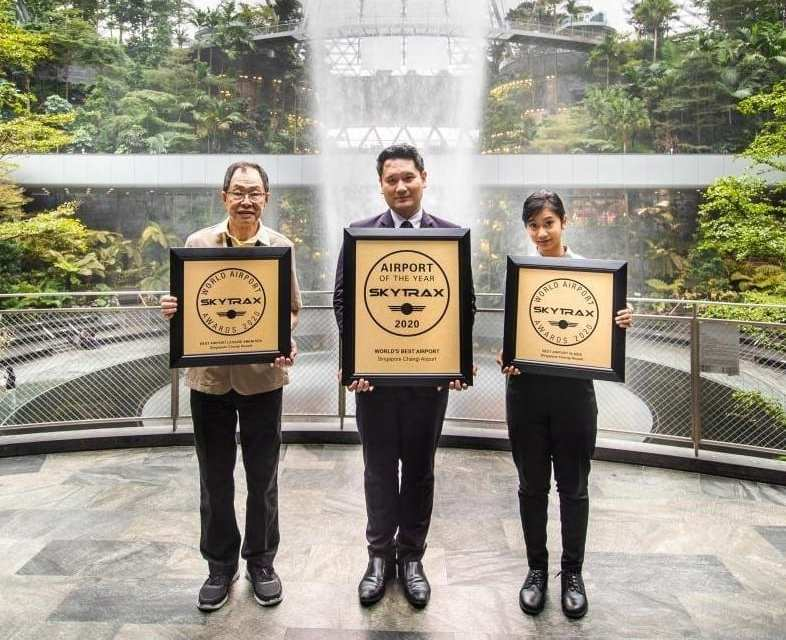 Singapore's Changi Airport named world's best airport for 2020