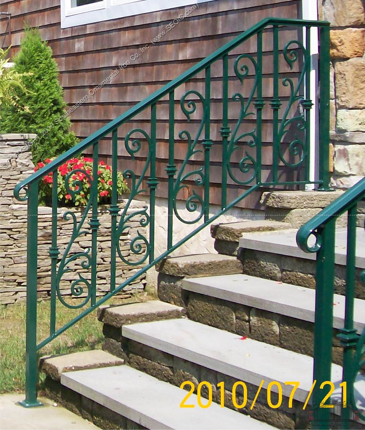Porch And Step Rails