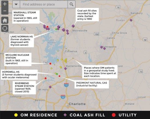 As cancer haunts North Carolina communities, residents ... on power lines and cancer map, northern lights map, ms cluster map, multiple sclerosis cluster map, united states cluster map, cancer by state map, gwinnett county schools cluster map, cancer belt map, current cancer statistics map, lung cancer world map, cancer deaths us map, cancer map by area, aurora borealis map, cancer incidence us map, skin cancer map, autism cluster map, cancer map usa, virginia power plants map, carbon footprint map, cancer concept map,
