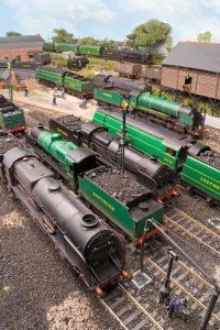 A view across the front of the shed (c) Hornby Magazine / C Nevard