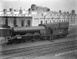2426 'St. Alban's Head' in Southern Railway olive green livery