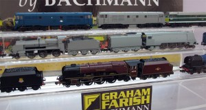The Graham Farish N Class and 3rd series Merchant Navy no moving to livery artwork stage.