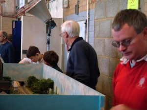 Fisherton Sarum's first exhibition appearance at Wycrail 2006 with Myself, Daniel and Simon at the helm looking a tad younger!