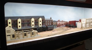An overall view of the full 4 foot of the layout as it stands at the moment