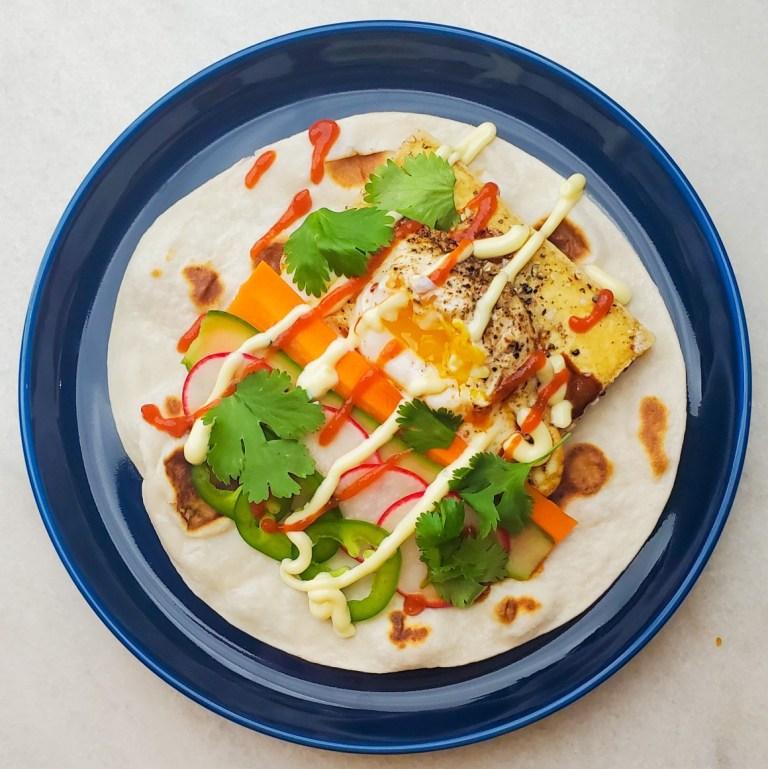 Banh Mi Tacos – Vegetarian!