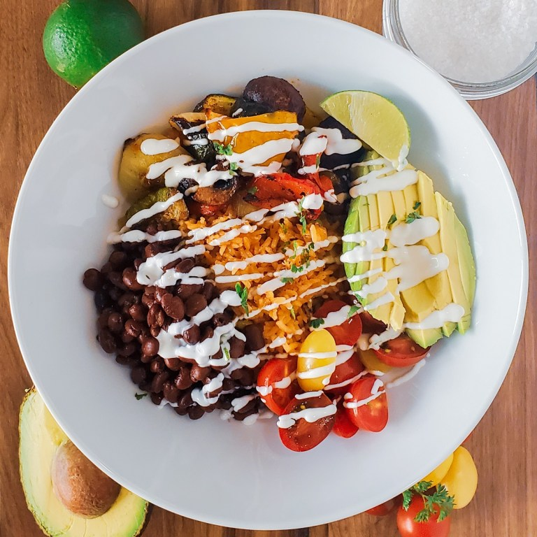 Tex-Mex Power Bowl with Lime Crema