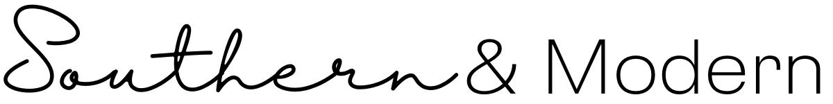 Southern & Modern Horizontal Logo