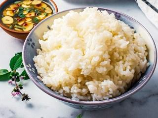 How to Make Sushi Rice Recipe Image Side Shot