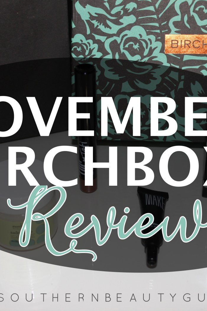 November Birchbox Review!