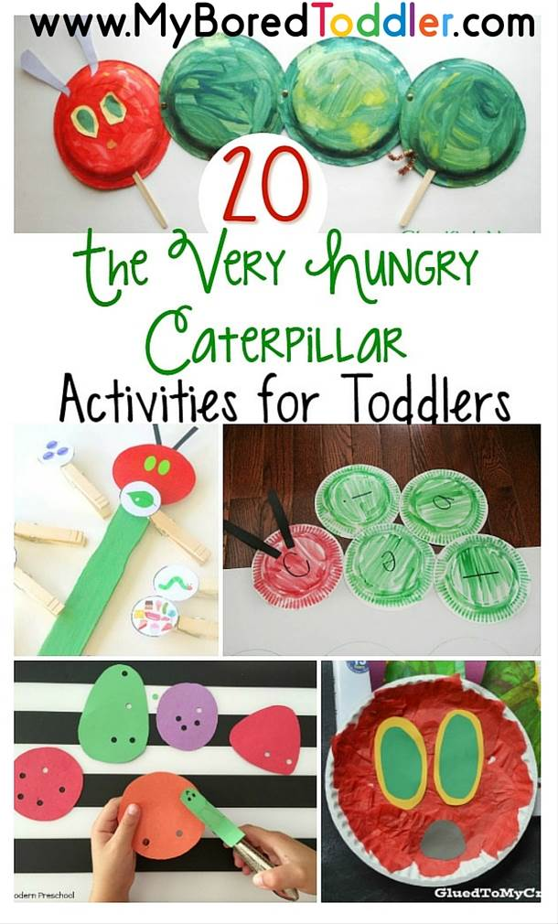 The Very Hungry Caterpillar Activities for Toddlers