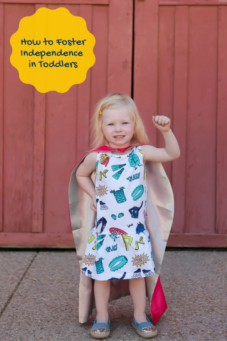 Want to foster independence from your toddler? These 5 tips will get them started!