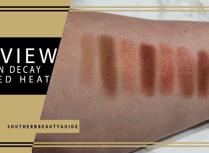 Urban Decay Naked Heat Palette Swatches + Review