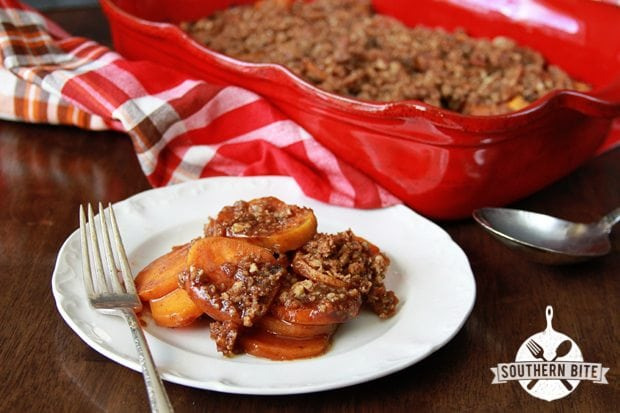 Candied Sweet Potatoes with Pecans