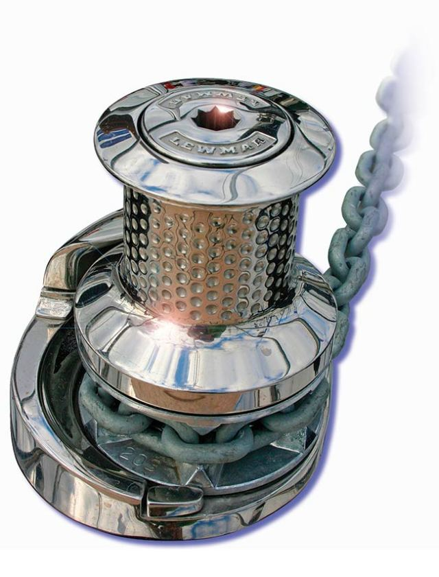 Lewmar and Maxwell are the two top windlass manufacturers for boats in North America.